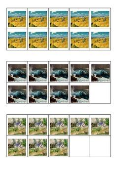 Art Masterpiece Ten Frames Games