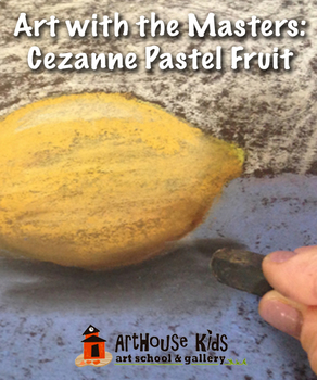 Art Masters: Cezanne Fruit Still Life Art History Lesson | Chalk Pastel