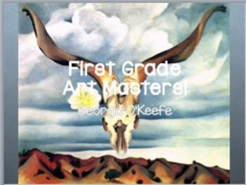 Art Masters Cezanne, Matisse, Okeefe, Lewis, Frankenthaler plus recording sheet