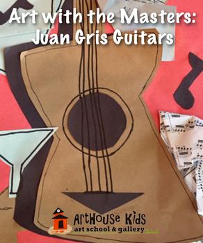 Art Masters: Juan Gris Guitars Art History Lesson | Paper Collage