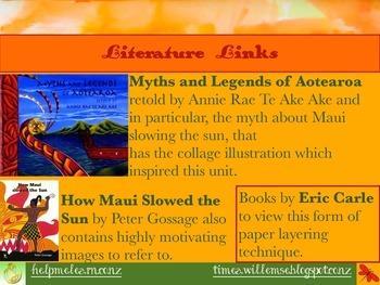 Art: Maui and the Sun