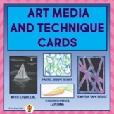 Art Media and Technique Cards
