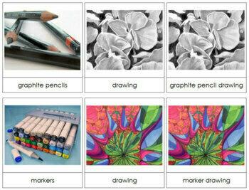 Art Medium Cards - Drawing