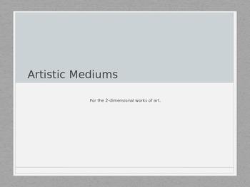 Art Mediums