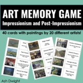Art Memory Game: Impressionism and Post-Impressionism