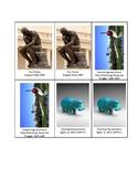 Art Memory Game - Sculptures