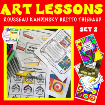 Art Mini Lessons - One Day Wonders 2 - Five Lessons Combin
