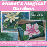 MONET'S MAGICAL GARDENS inspired by CLAUDE MONET -comprehe