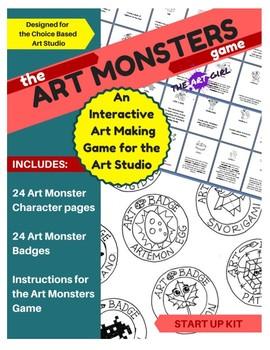 Art Monsters Game