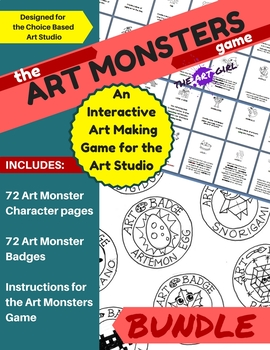 Art Monsters Game Bundle