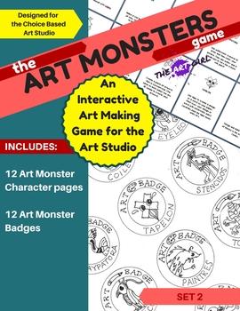 Art Monsters Game - Set 2