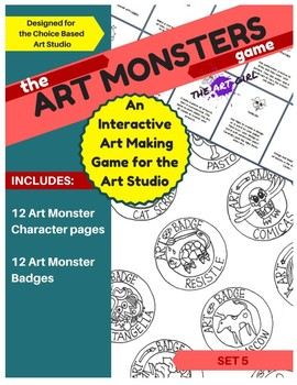 Art Monsters Game - Set 5