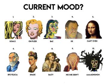 Art Moods Poster