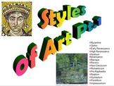 Art Movements 1