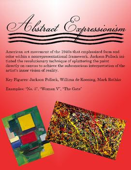Art Movements Poster Set