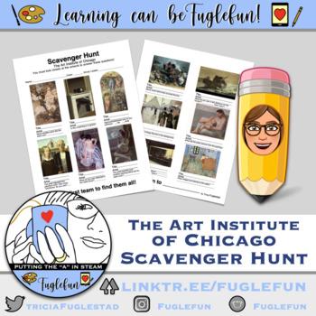 art museum scavenger hunt art institute of chicago by fuglefun. Black Bedroom Furniture Sets. Home Design Ideas