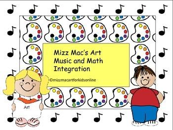 Art Music and Math Integration