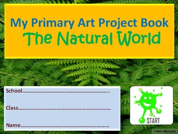 Art Natural world project book