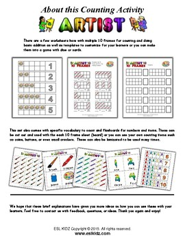 Art Number / Counting Activities