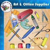 Art & Office Supplies Clip Art