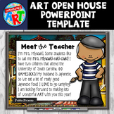 Art Open House PowerPoint Template (Editable)