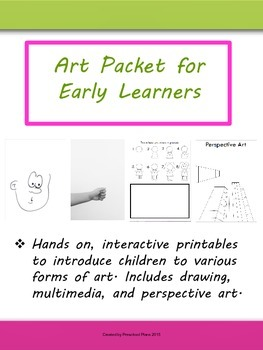 Art Packet for Early Learners