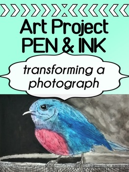 Art - Pen and Ink - Project  (transforming a photograph)