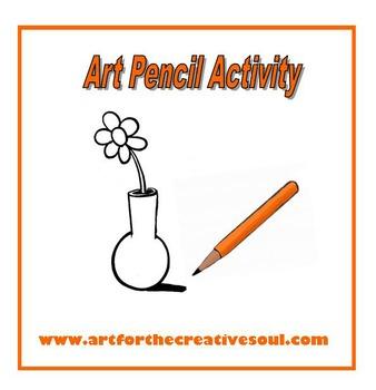 Art Pencils Practice Activity
