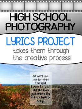 Art - Photography - Lyrics project