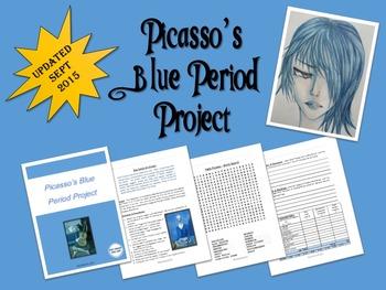 Art - Picasso's Blue Period High School Art Project