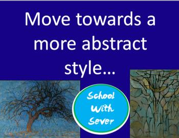 Art Piet Mondrian PowerPoint & Mondrian Lesson Art Mondrian Project Art Activity