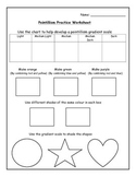 Art - Pointillism Worksheet
