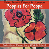 Art: Poppies for Poppa