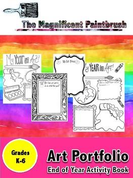 Art Portfolio: End of Year Activity Sheets