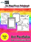 Art Portfolio: End of Year Activity Sheets