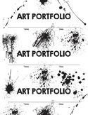Art Portfolio Labels