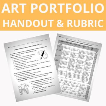 Art Portfolio Outline and Rubric