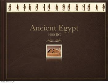 Art Presentation: Ancient Egyptian Headdress Craft