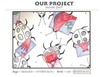 Art Presentation: MC Escher and Bugs and Birds artwork