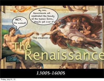 Art Presentation: Renaissance & making a Self Portrait