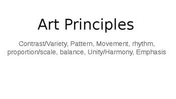 Art Principles ppt.