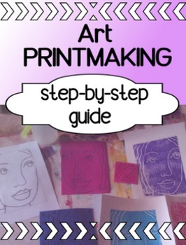 Art - Printmaking for high school - a step by step guide
