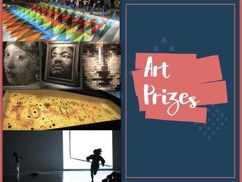 Art Prizes ~ Internationally ~ Presentation, Flashcards + Test ~ 118 Slides