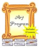 Art Units - Art Activities - 6 Lessons