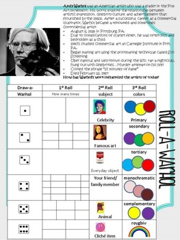 Andy Warhol Portrait Project