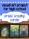 Art - Cool Intro/End of year project - Artist Trading Cards