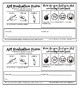 Art Project Evaluation forms Primary and Intermediate