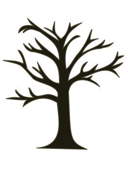 Art Project: Fall Fingerprint Tree