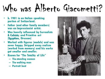 Giacometti Plaster Sculptures