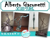 Giacometti Plaster Sculptures; art projects